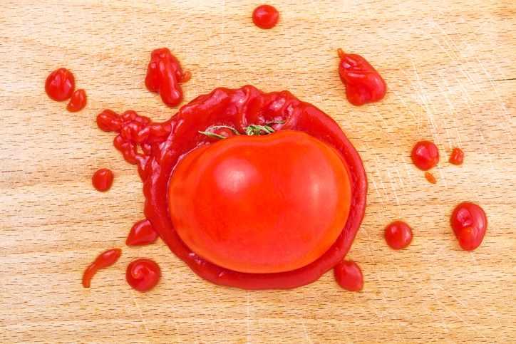 Consejos para eliminar las manchas de tomate