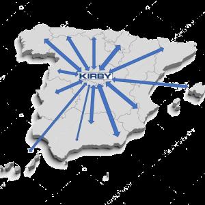 kirby mapa